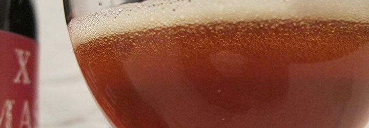 X MAS BEER SUPER STRONG. Архивное пиво. Пивоварня Святой Норберт, Прага.